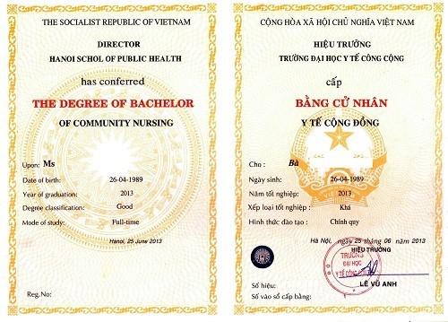 Dịch vụ làm bằng đại học uy tín, giá rẻ tại Hà Nội