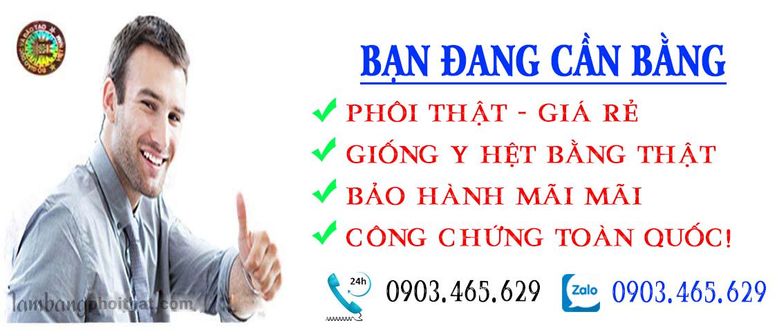 Làm bằng đại học thật MHPRO Việt Nam